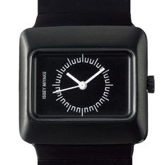 Harri Koskinen designed VAKIO watch collection for Issey Miyake and Seiko Instruments Fabric Shaver, Issey Miyake, Seiko Watches, Type 4, Wearing Black, Apple Watch, Smart Watch, Product Launch, How To Wear
