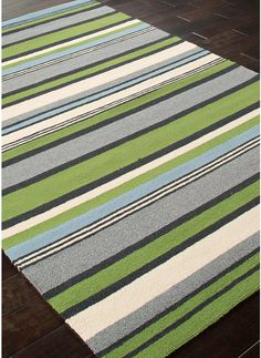Modernrugs Com Colours In A Row Modern Striped Multi Color Rug Colorful