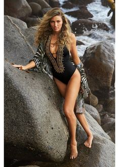 This Gold Beaded Little Black Swimsuit will turn heads with its alluring beaded neckline and exquisite details. The poolside posh look is designed to make a splash…and you, undeniably glamorous. | Sexy Black Swimsuit | Sexy Black One Piece Swimsuit | Boston Proper Swimsuit | Boston Proper One Piece Swimsuit | Resort Swimsuit | Vacation Swimsuit | Vacay Swimsuit | Pool Party Outfit | #BostonProper Cruise Outfits, Vacation Outfits, Summer Outfits, Classy Wedding Guest Dresses, Pool Party Outfits, Resort Wear For Women, Dress The Population, Boston Proper, Black Swimsuit