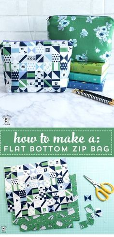 Learn to Sew Series: Stitch an Adorable Zippered Pouch Learn how to sew a simple zippered pouch with the free tutorial. The post Learn to Sew Series: Stitch an Adorable Zippered Pouch appeared first on Sewing ideas. Sewing Hacks, Sewing Tutorials, Sewing Crafts, Sewing Tips, Sewing Basics, Diy Gifts Sewing, Bags Sewing, Diy Crafts, Sewing Labels