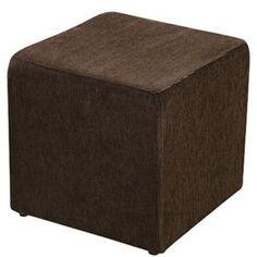 Puff American Comfort em Tecido - Marrom - Puffs no Pontofrio.com