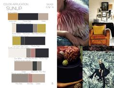 Color Trend Book  Fall/Winter 2014 by Juliana Holmes, via Behance
