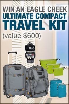 Win An Eagle Creek Ultimate Compact Travel Kit Worth $600