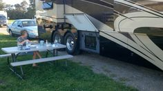 """Camping and enjoying life in the Amish areas of Ohio. This was at Kandle's Campground, a very nice """"big rig friendly"""" place."""