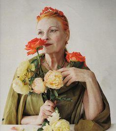 Dame Vivienne Westwood A dreamy Portrait!