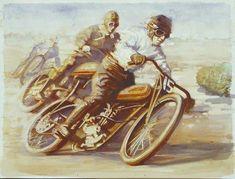 Early Watercolor David Uhl
