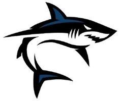Bull Tattoos, Shark Tattoos, Tribal Tattoos, Shark Silhouette, King Shark, New Shark, Shark Logo, Drawing Tutorials For Beginners, Fish Drawings