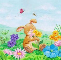 rabbit-flowers-cute-jpg