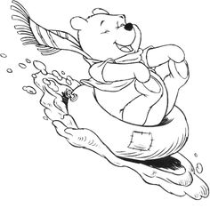 winnie the pooh activity when winter coloring pages winter coloring pages kidsdrawing free