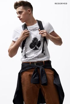 Brooklyn Beckham for Reserved SS15