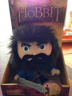 It's a Thorin Oakenshield plush doll! --