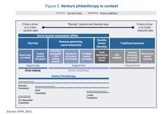 A report from the Organization for Economic Cooperation and Development (OECD) highlights key characteristics of successful venture philanthropies.