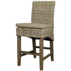 Dolcetto Bar Stool in Kubu Gray