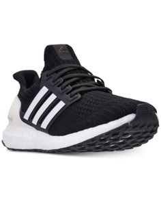 brand new 39a84 9e03c adidas Mens UltraBoost Running Sneakers from Finish Line - Black 11.5