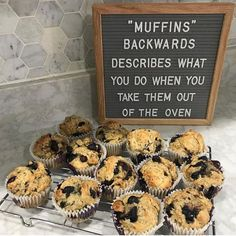 What an eye opener! ♀️I've never realized this! It also caused me to wake up and make muffins this morning! Hope everyone is having a… Word Board, Quote Board, Message Board, Felt Letter Board, Felt Letters, Felt Boards, Funny Signs, Retro, Quotes To Live By
