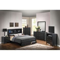 Found it at Wayfair - Storage Panel Customizable Bedroom Set