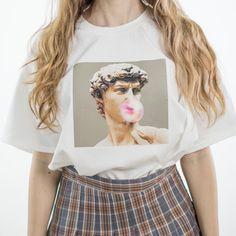 Michelangelo Hands T Shirt Aesthetic T Shirts Cool Shirts Printed Shirts