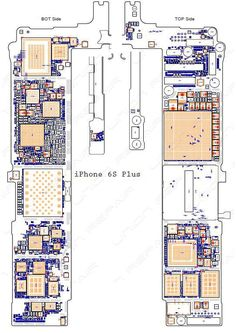 iphone 6 full pcb cellphone diagram mother board layout downloadschematic diagram (searchable pdf) for iphone 6s 6s pluswe will send the schematic