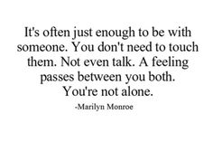 So true... When you've found that person... That really and truly understands you so much that they feel like they're part of you... what do they call em?... Oh yea... Soul mates :)