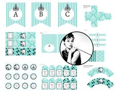 Breakfast at Tiffany's Baby Shower, Breakfast at Tiffany's Bridal Shower