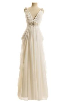 Grecian Wedding Dress with Straps at Couture Bride Hornchurch Essex