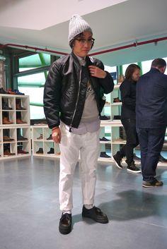 Ma1 Buzz Rickson Bomber (?!) x Michael Paraboot and beams collaboration shoes!