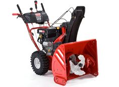 The Troy-Bilt Vortex 2890 a two-stage, gas-powered snow blower. Yard Tools, Riding Lawn Mowers, Small Engine, Lawn Care, Home Repair, Troy, Outdoor Power Equipment, Stage, Engineering
