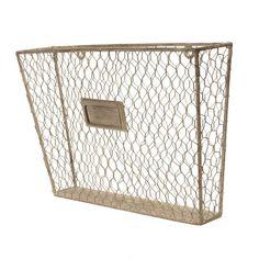 Metal File Holder | Wall Mounted File Holder | Hanging File Box