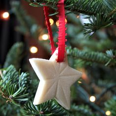 Beautiful and simple salt dough ornaments add a personal touch to your Christmas tree.