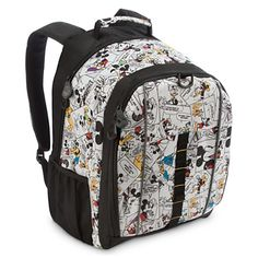 Mickey Mouse and Friends Comic Strip Backpack Mickey Mouse Luggage, Disney Luggage, Mickey Mouse And Friends, Disney Mickey Mouse, Walt Disney World, Disney Land, Disney Wishes, Disney Purse, Disney On Ice