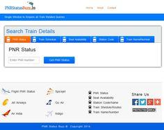 PNR Status Buzz - Indian Railway Ticketing Enquiry Portal-Mumbai-Travel Parter
