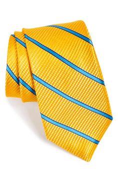 Men's Ted Baker London Stripe Silk Tie