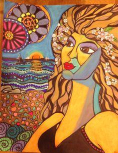 inner goddess: Carlene's Whimsy. limited edition giclees at https://www.etsy.com/shop/aSoulFullofArt