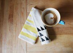 Print workshop | tea towels DIY - Ruban Cassette
