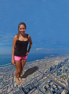 Giga Giantess Nataly by giantess-mirror on DeviantArt Somewhere in Arab Emirates young and beautiful giantess is looking for foot worshippers. Young And Beautiful, V Neck Dress, Worlds Largest, Boho Shorts, One Piece, Deviantart, Mirror, Swimwear, Fun