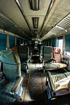 Ghost train, passenger car. Chattanooga, TN - Writing inspiration #nanowrimo #scenes #settings