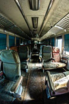 Ghost train, passenger car. Chattanooga, TN - Writing inspiration #nanowrimo #scenes #settings