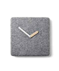 Felt Panel Clock design by Menu