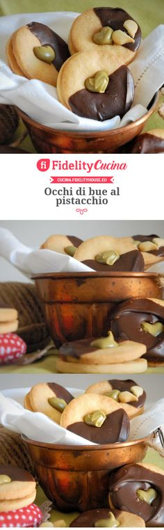 Occhi di bue al pistacchio Carlsbad Cravings, Us Foods, Cake Cookies, Food Network Recipes, Food Inspiration, Italian Recipes, Food To Make, Sweet Tooth, Good Food