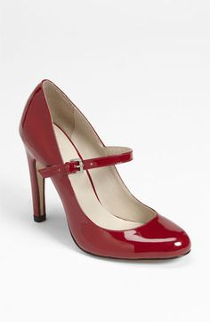 red Mary Jane pump!