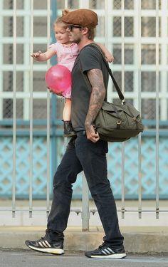 Daddy on dutty - David Beckham