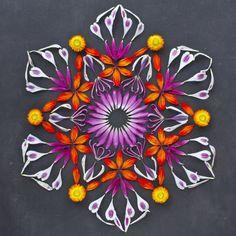 flower mandalas | oliveloaf design