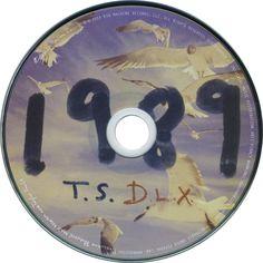 Caratula Cd de Taylor Swift - 1989 (Target Edition)