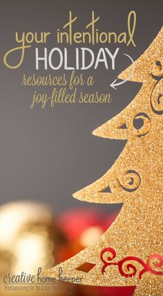 A complete collection of all the BEST resources for a joy-filled & intentional holiday season.  via /victoriaosborn/