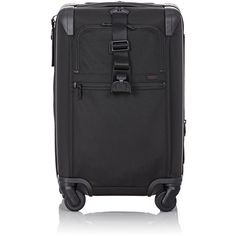 """Tumi Men's Alpha II 22"""" International Expandable Carry-On Suitcase-Bla (40.755 RUB) ❤ liked on Polyvore featuring men's fashion, men's bags, black, mens leather carry on bags, mens bags, mens luggage bags, mens travel bag and mens travel suitcase"""