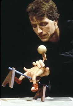 Puppetry with hands and props