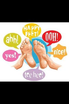 Always the result of Reflexology!!