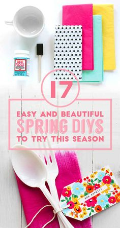 Love the copper spray paint on chrome wire baskets! 17 Easy And Colorful DIYs That Are Perfect For Spring