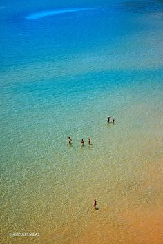 Psili Ammos beach, right next to Kambos village, Samos island, Greece.