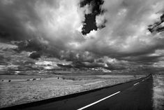 'Endless road' by Hercules Milas Cappadocia, Hercules, Roads, Travel Mug, Chiffon Tops, Monochrome, Cloud, Oriental, Landscapes